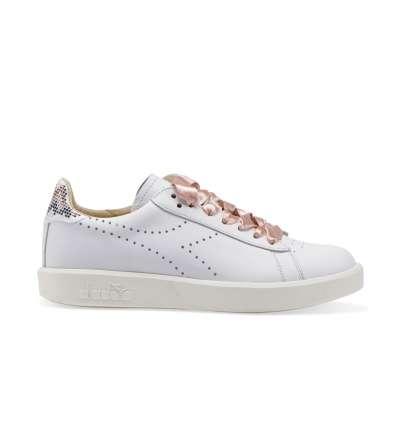 DIADORA HERITAGE B.elite W Ita Premium Sneakers Donna Bianco